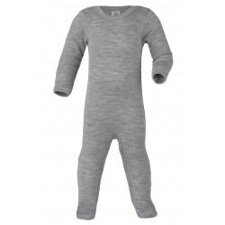 Engel heldragt uld and silke grå-20