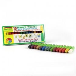 ÖkoNORM tekstilfarver bivoks 15 farver-20