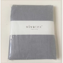 VivaTex dynetræk grå str. 140x220 cm.-20