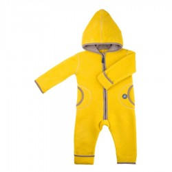 Pure Pure heldragt uldfleece lemon curry-20