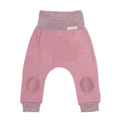 Pure Pure bukser uld and silke cashmere rose-20