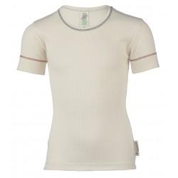 Engel kortærmet t-shirt økologisk bomuld natur-20