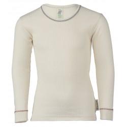 Engel langærmet t-shirt økologisk bomuld natur-20