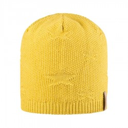 Pure Pure beanie hue uld/silke/bomuld Lemon curry-20