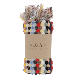 Algan Ahududu gæstehåndklæde 45x100 cm. multi-20