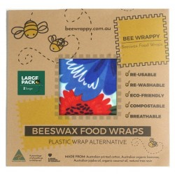 Bee Wrappy genanvendelige wraps 2 stk. large-20