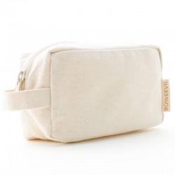 Bo Weevil lille kosmetik taske med hank natur-20