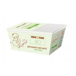 Bocoton Bio økologiske baby vatpinde 60 stk.-20
