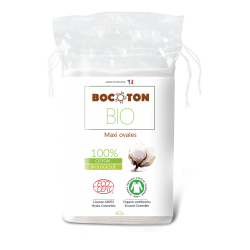 Bocoton Bio ovale maxi rondeller 40 stk.-20