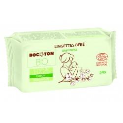 Bocoton Bio økologiske vådservietter 54 stk.-20