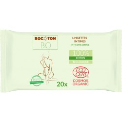 Bocoton Bio økologiske intimservietter 20 stk.-20