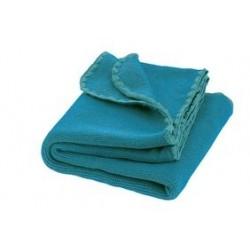 DISANA babytæppe økologisk uld blue/lagoon melange-20