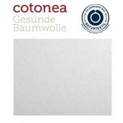 COTONEA økologisk stræklagen lys grå-20