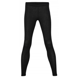 Engel dame leggings uld and silke sort-20