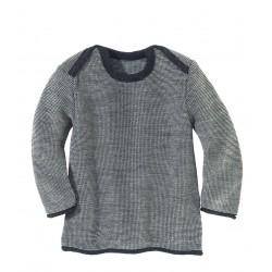 DISANA | striktrøje | antracit/grå melange-20