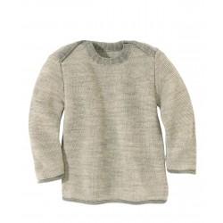 disana | striktrøje | grå/natur-20