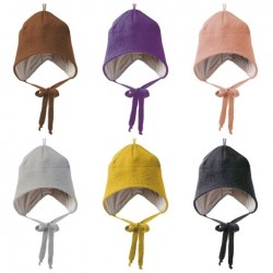 disana |hue med bindebånd |kogt uld |mange farver-20