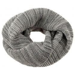 DISANA | tube halstørklæde | antracit/grå melange-20