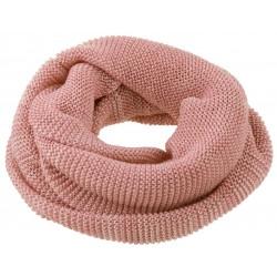 DISANA | tube halstørklæde | rosé/natur melange-20