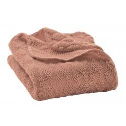 DISANA babytæppe økologisk uld rosé-20