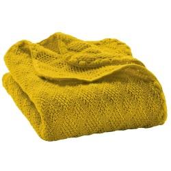 DISANA babytæppe økologisk uld curry-20