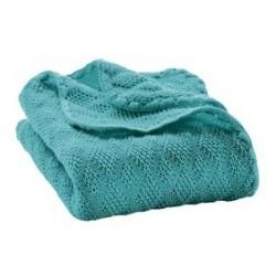 DISANA babytæppe økologisk uld Lagoon-20