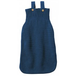 DISANA sovepose i økologisk merinould marineblå-20
