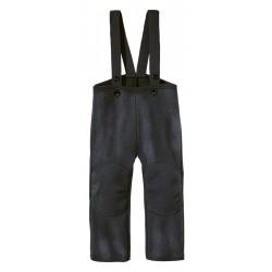 DISANA |uldbukser | kogt uld | antracitgrå-20