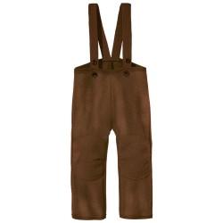 DISANA |uldbukser | kogt uld | hasselnød/brun melange-20