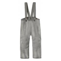 DISANA |uldbukser | kogt uld | grå-20