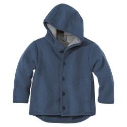 DISANA | uldjakke | kogt uld | marineblå-20