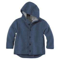 DISANA | uldjakke | kogt uld | marineblå ældre udgave-20