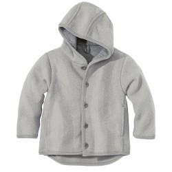 DISANA | uldjakke | kogt uld | grå ældre udgave-20