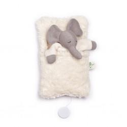 Nanchen elefant i sovepose med godnat musik-20