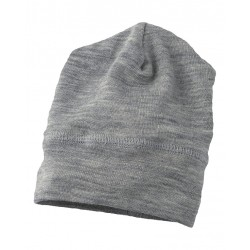 Engel babyhue/beanie uld and silke grå melange-20