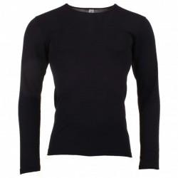 Engel herre langærmet t-shirt i økologisk uld and silke sort-20