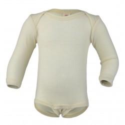 Engel langærmet body ren økologisk uld-20