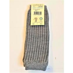 Grödo benvarmere børn økologisk uld 25 cm. grå-20