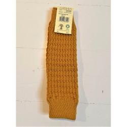 Grödo benvarmere-børn økologisk uld 35 cm. safran-20