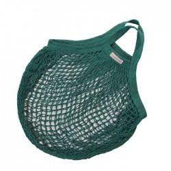 Bo Weevil stringbag granny´s hæklet net petroleumsgrøn-20