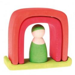 Grimms lille hus rødt and grønt-20