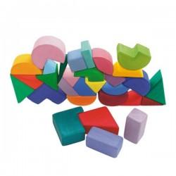 Grimms triangel square 30 geometriske byggeklodser-20