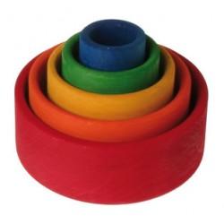 Grimms runde stabelkasser farvede-20
