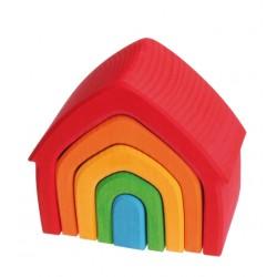 Grimms lille hus 5 dele klassiske farver-20