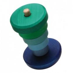 Grimms vippe stabeltårn blå and grøn-20