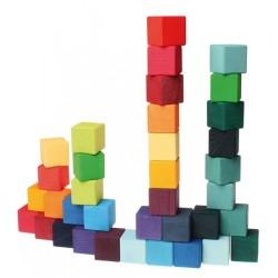 Grimms 36 byggeklodser i trækasse-20