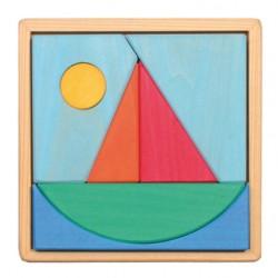 Grimms puslespil 7 dele båd-20