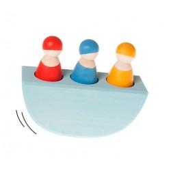 Grimms lille vippebåd med 3 passagerer-20