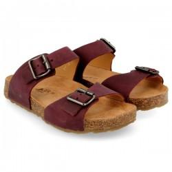 Haflinger sandaler Bio Andrea bordeaux-20