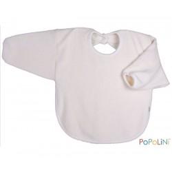 Popolini hagesmæk forklæde med ærmer natur-20